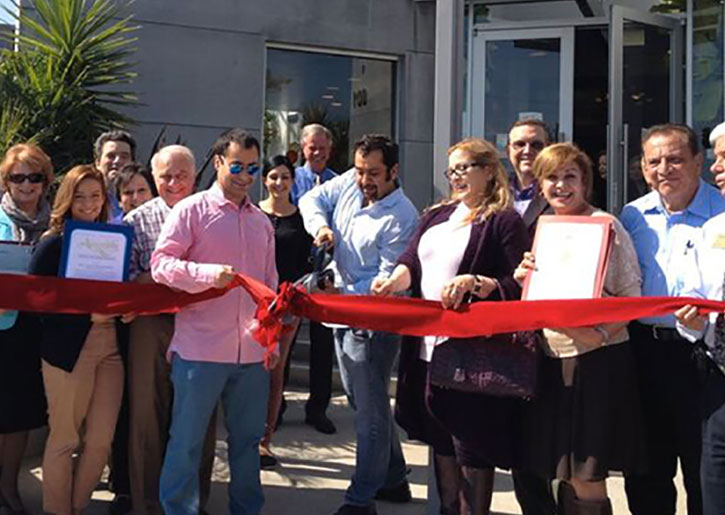ribbon cutting Clairemont Chamber of Commerce San Diego