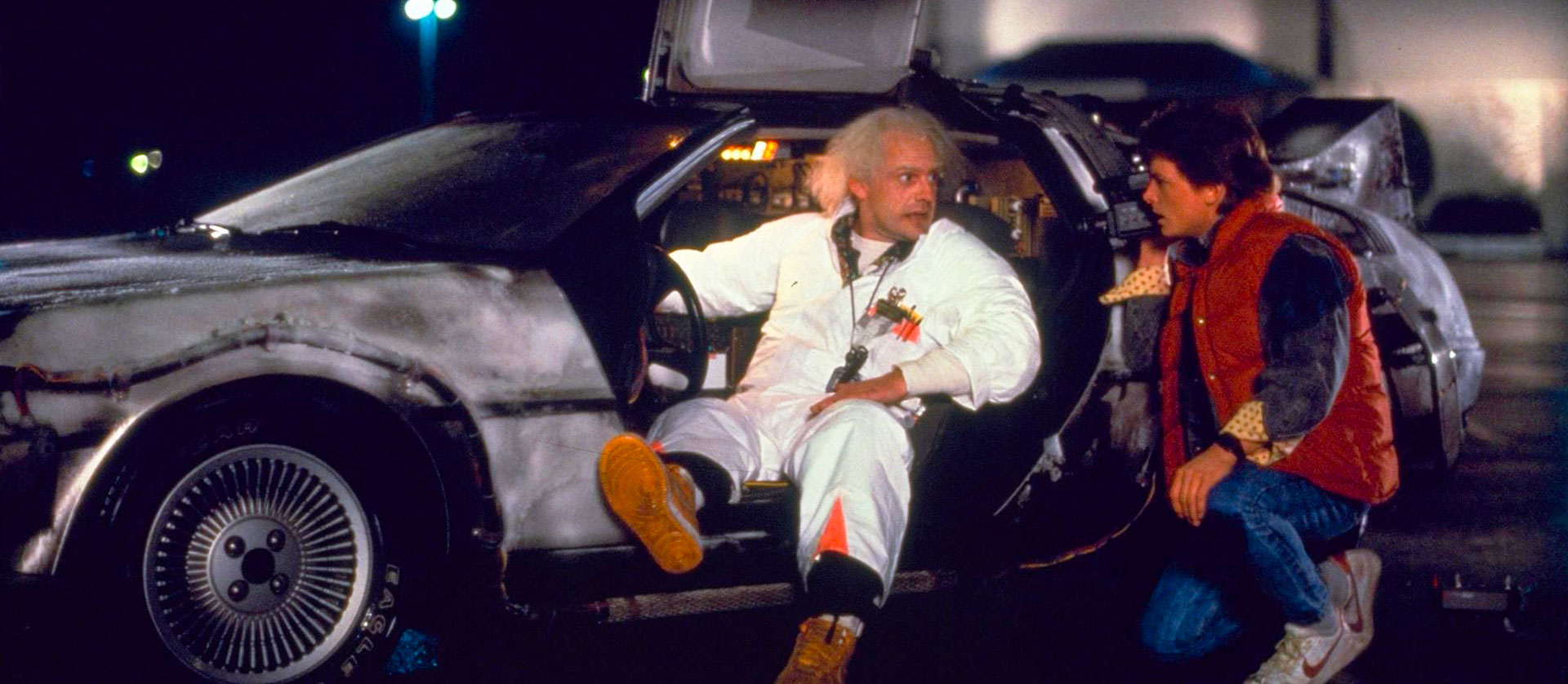 Back to the Future Friday night at the Drive-In Clairemont, San Diego